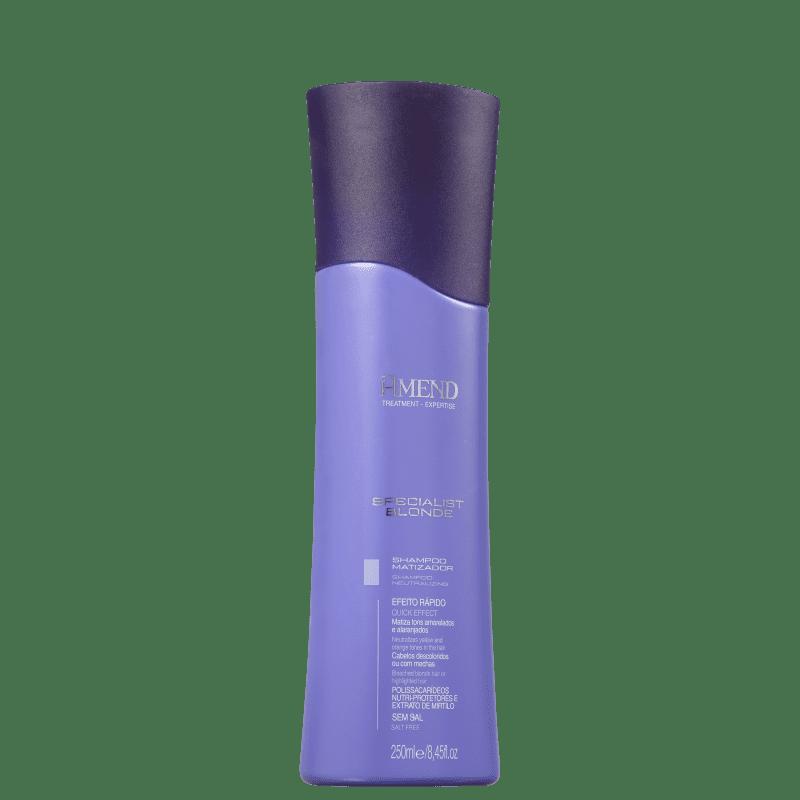 Shampoo Specialist Blonde Matizador 250ml Amend