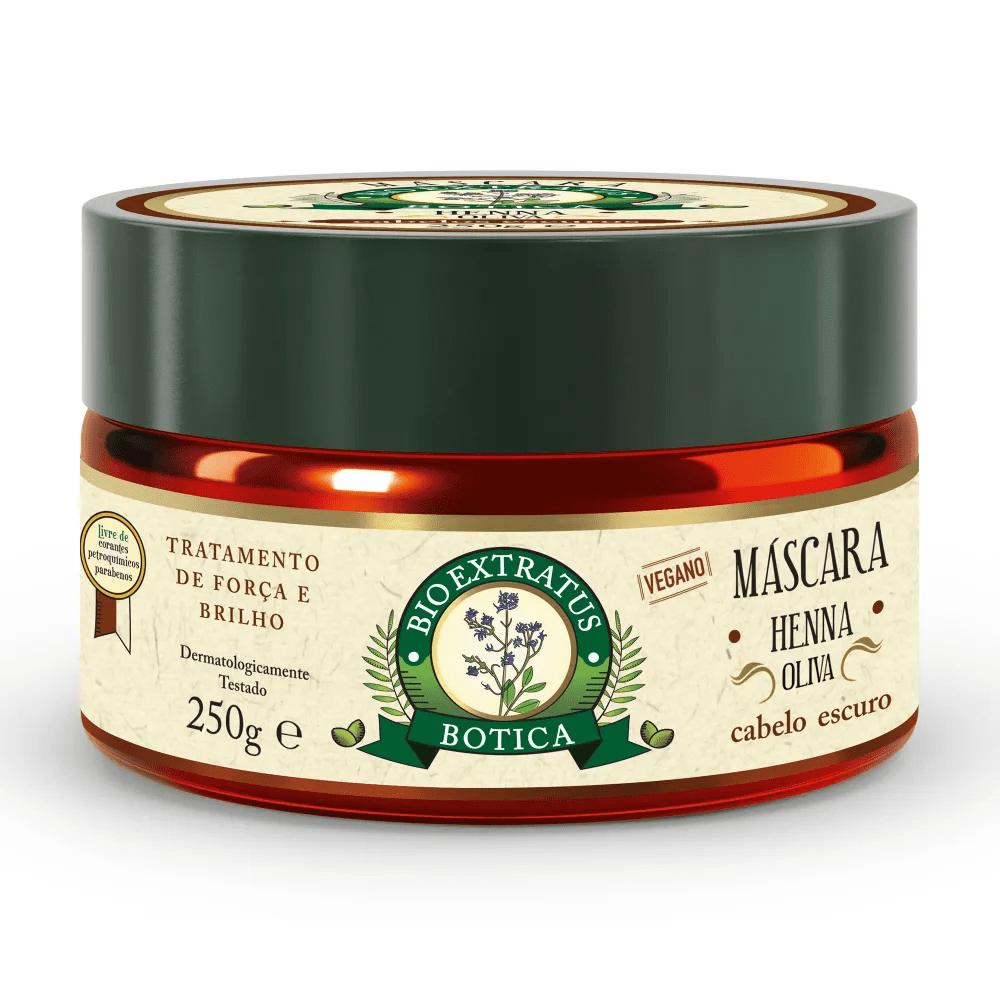 Bio Extratus Máscara Botica Henna Oliva 250g