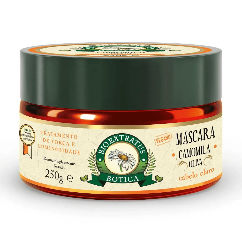 Bio Extratus Máscara Camomila Oliva Botica 250g