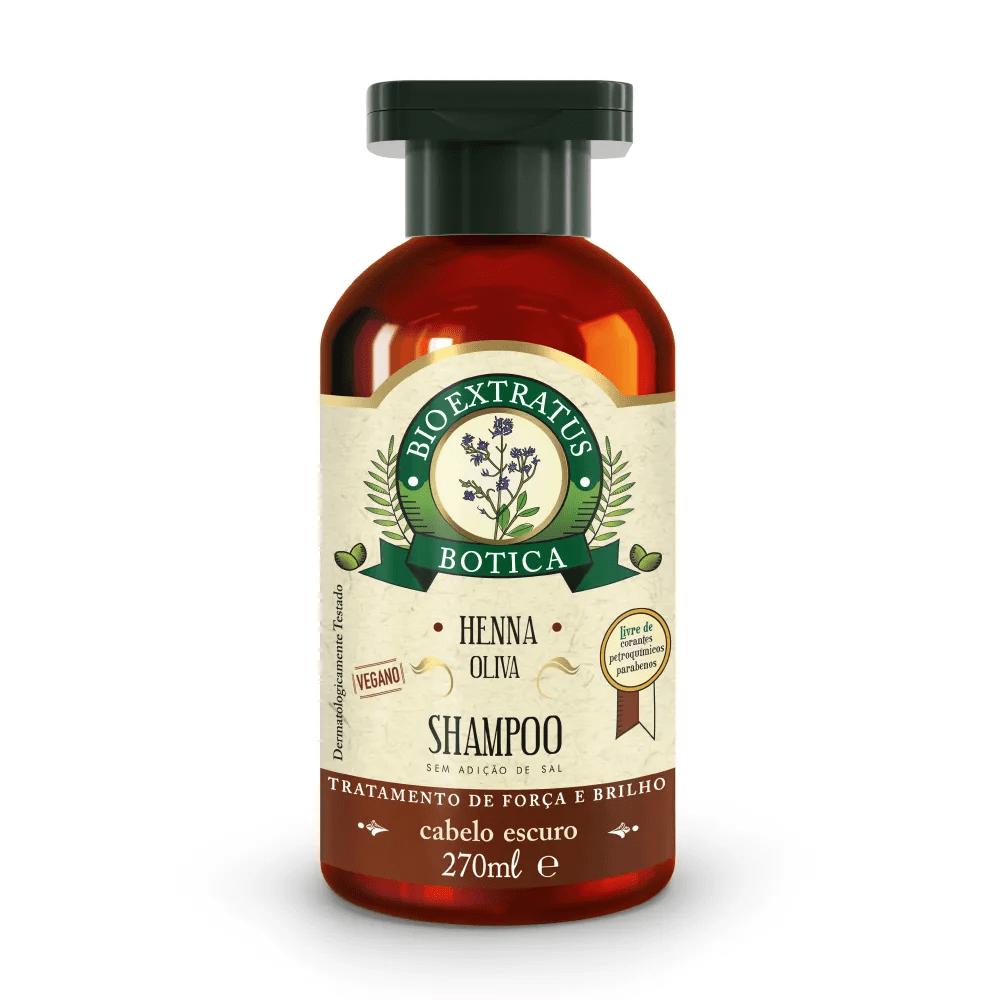Bio Extratus Shampoo Henna Oliva Botica 270ml.