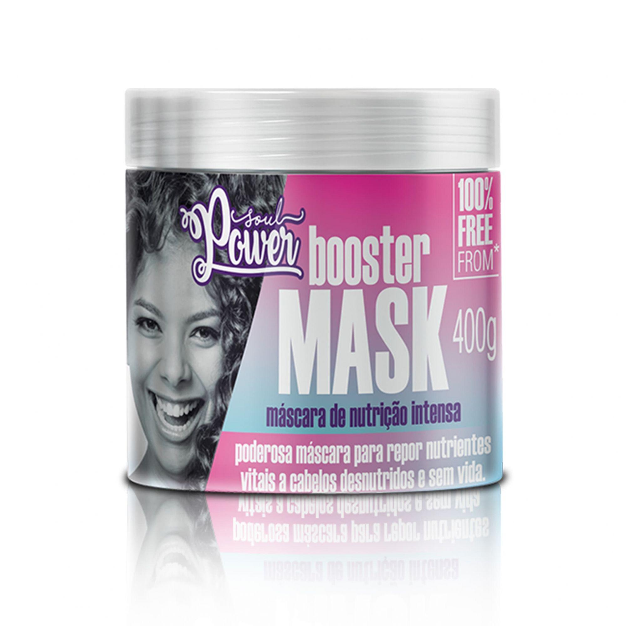 Booster Mask  Máscara de Nutrição Intensa Soul Power 400g.