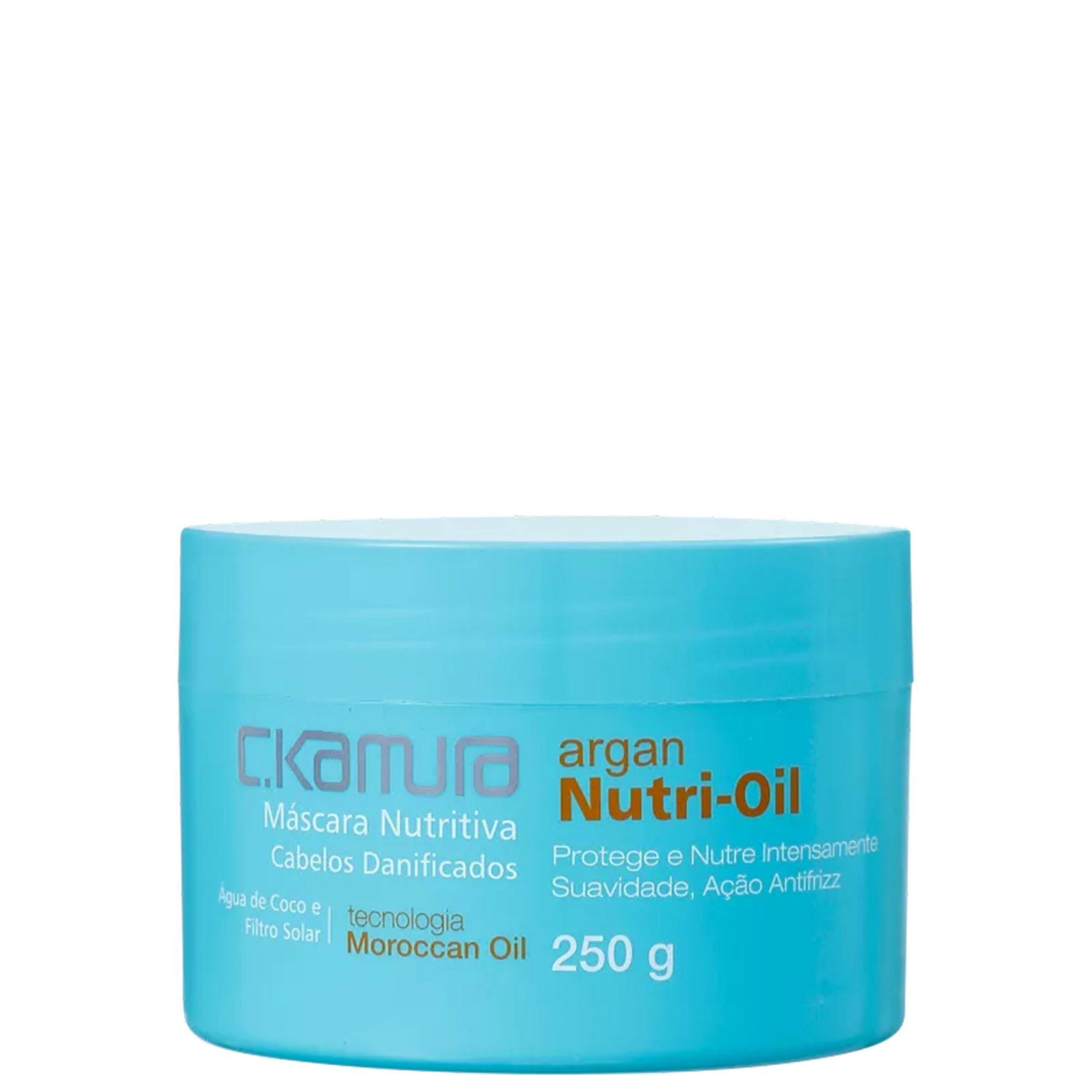 C.Kamura Argan Nutri-Oil Máscara Capilar 250g.