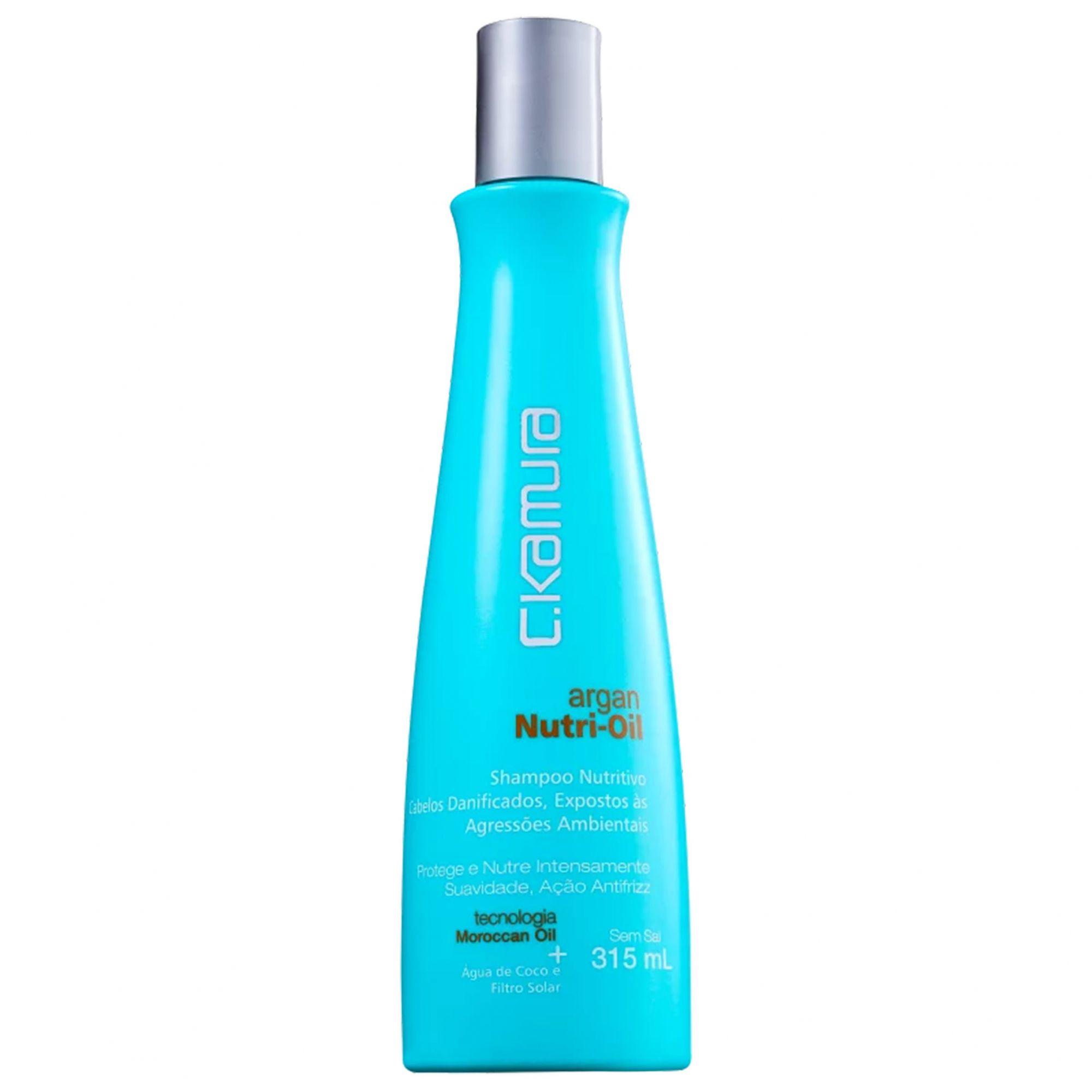 C.Kamura Argan Nutri-Oil - Shampoo 315ml.