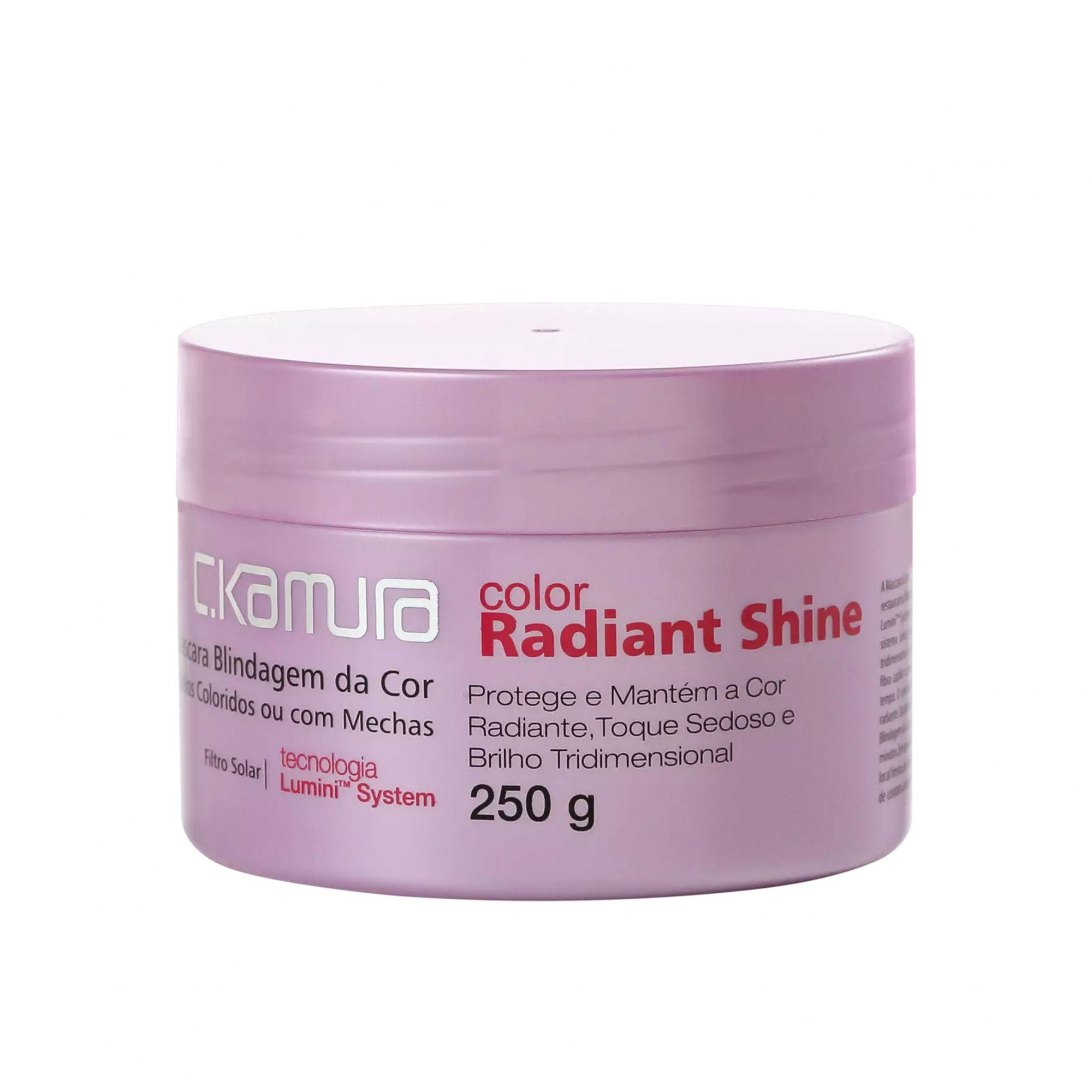 C.Kamura Color Radiant Shine Máscara Capilar 250g.