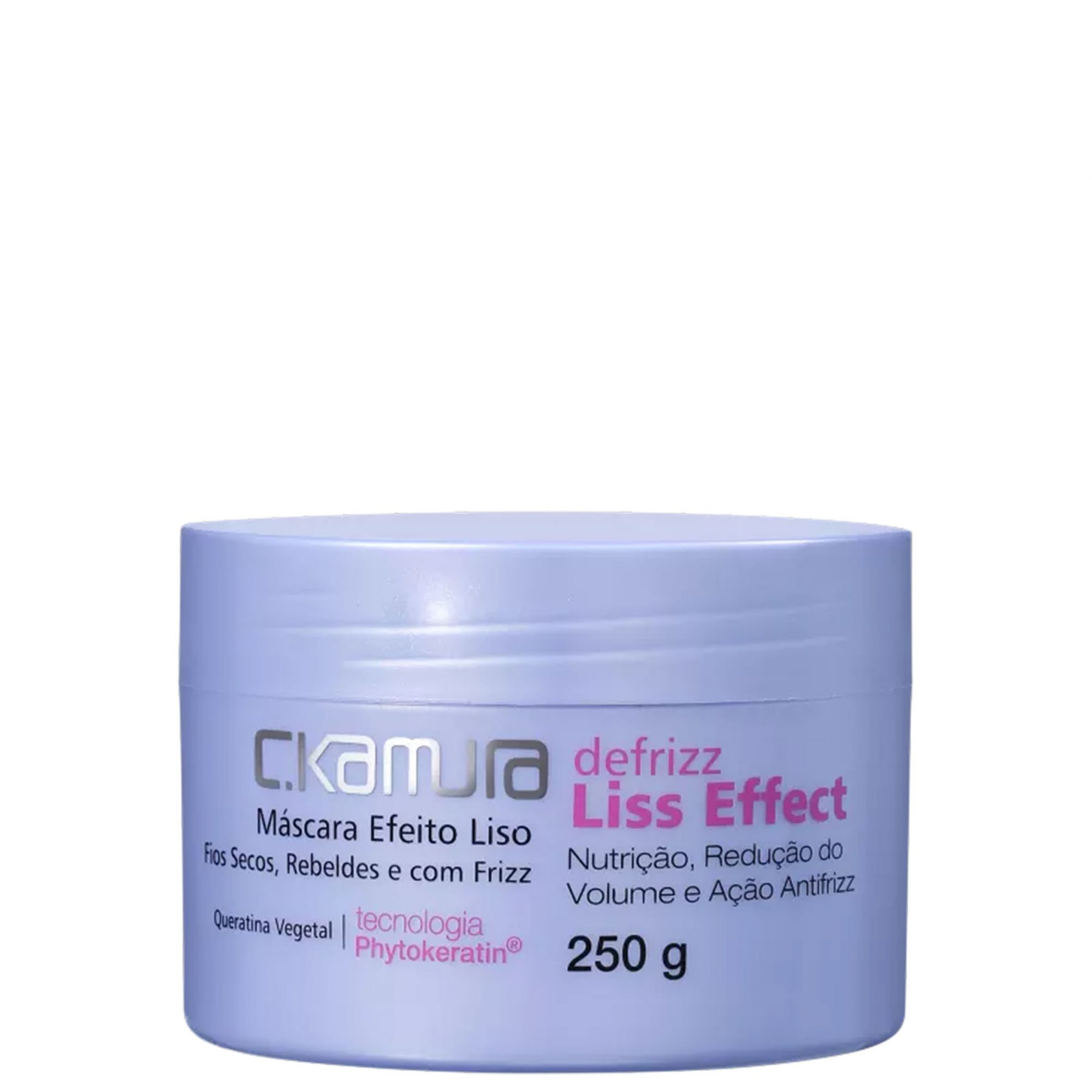 C.Kamura Defrizz Liss Effect Máscara Capilar 250g.