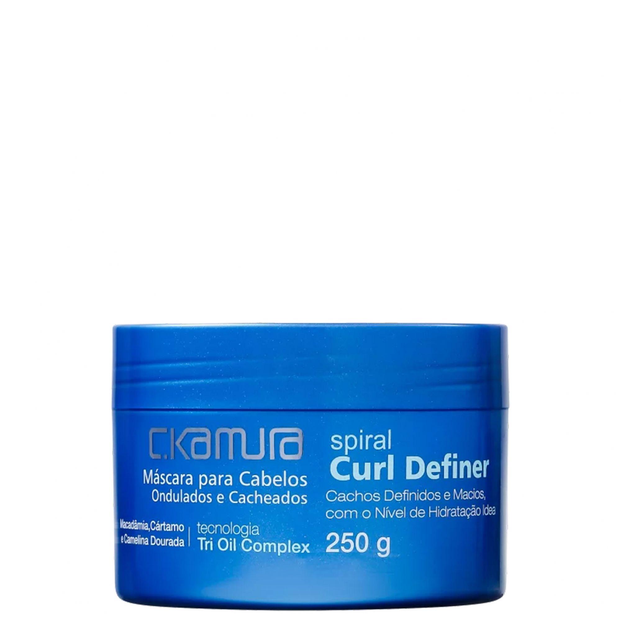 C.Kamura Spiral Curl Definer Máscara Capilar 250g.