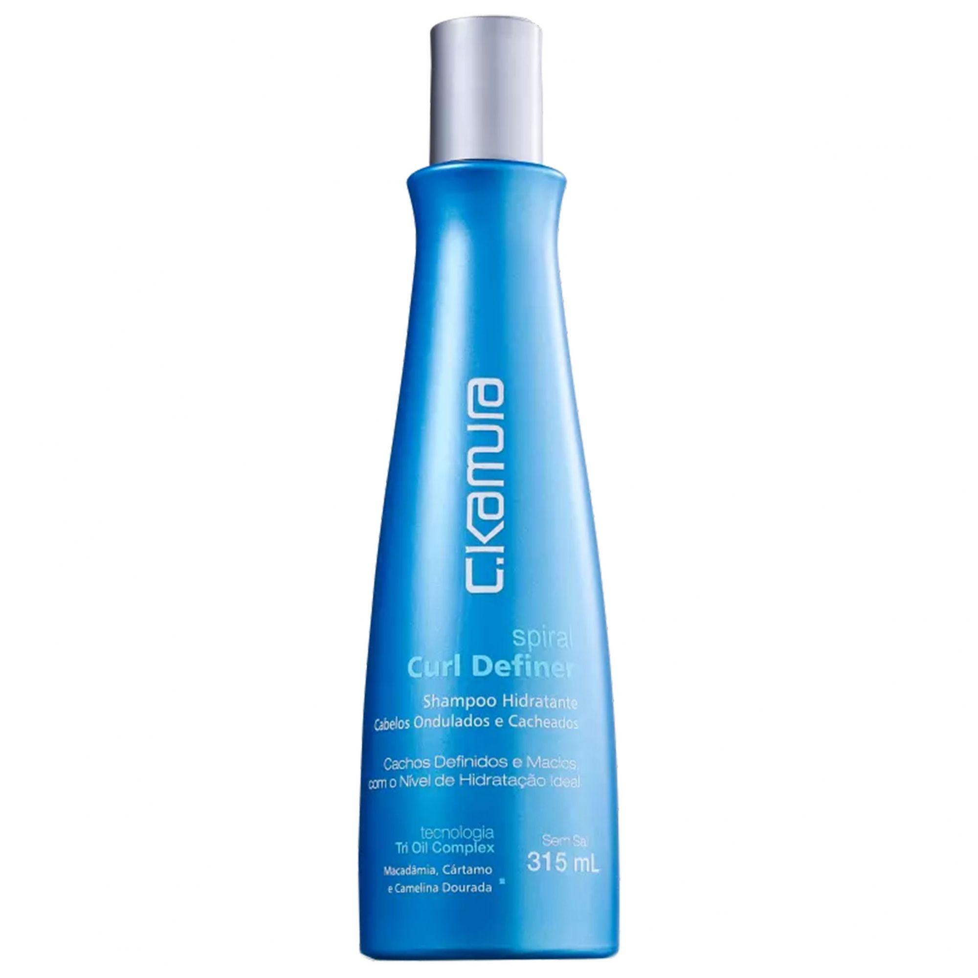 C.Kamura Spiral Curl Definer - Shampoo 315ml.