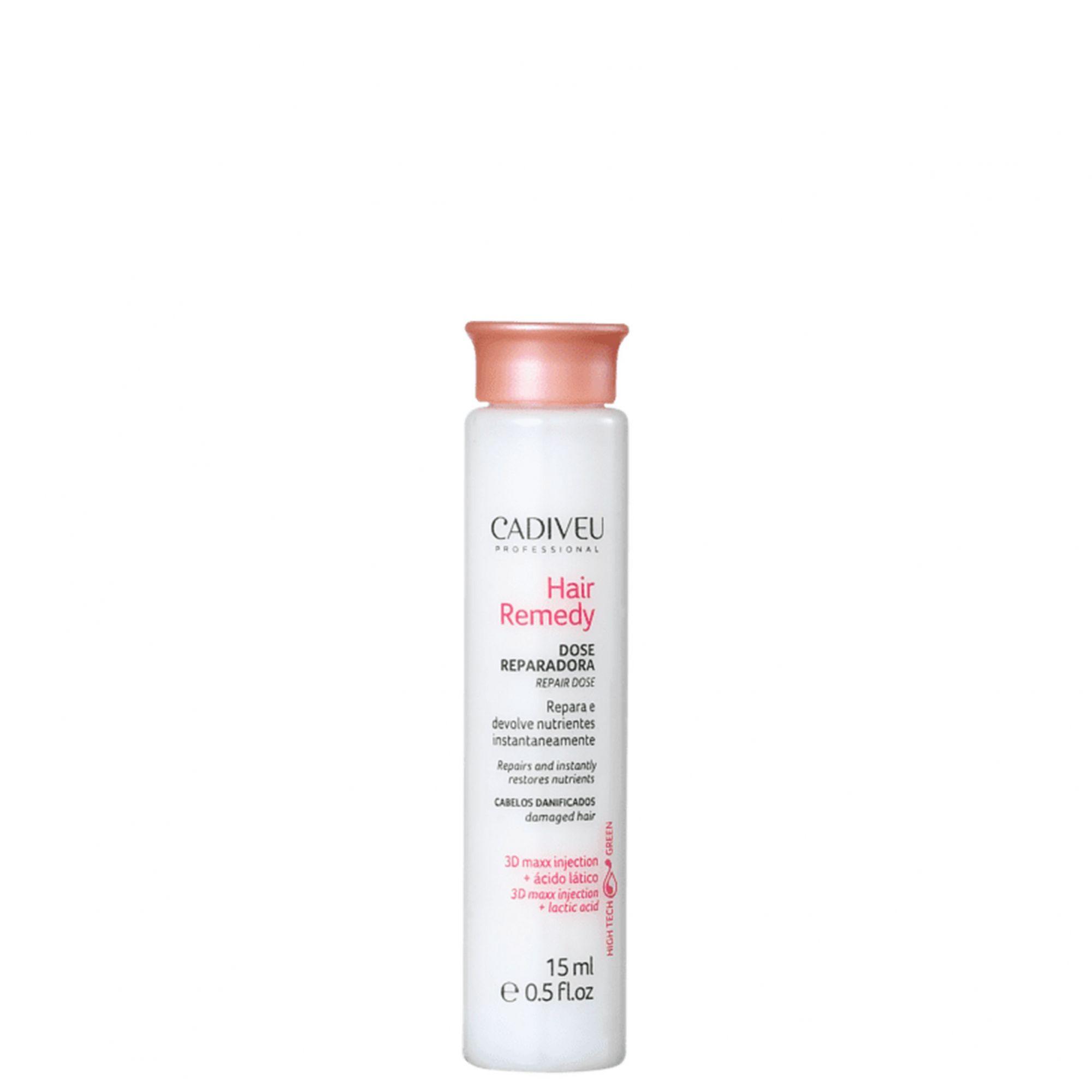 Cadiveu Professional Hair Remedy Dose Reparadora Ampola Capilar 15ml