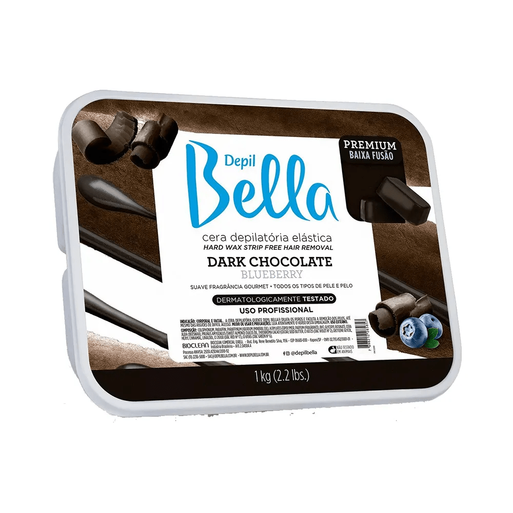 Cera Depil Bella Dark Chocolate 1kg.