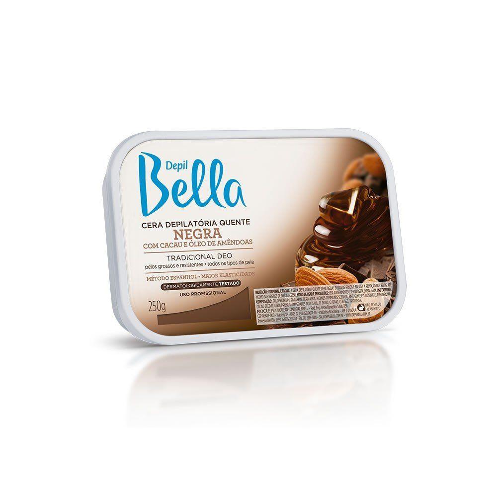 Cera Depil Bella Negra 250g.