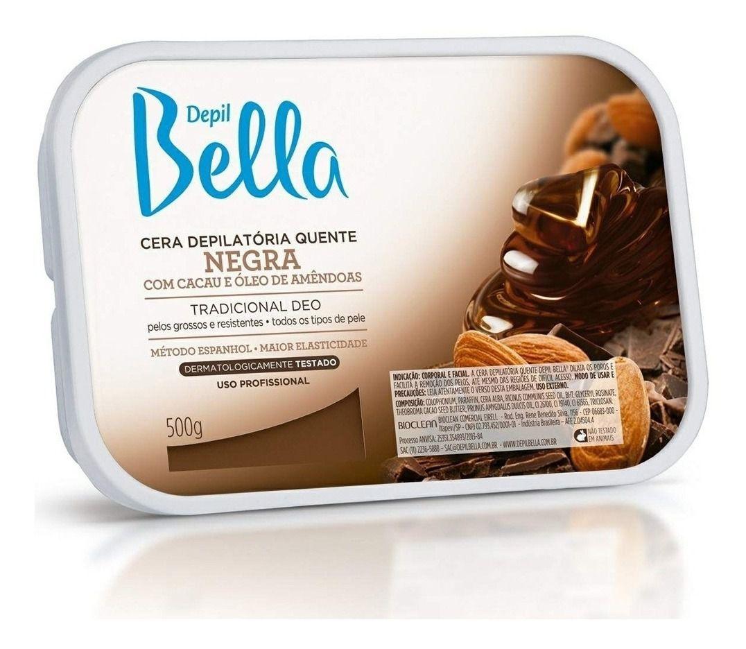 Cera Depil Bella Negra 500g.