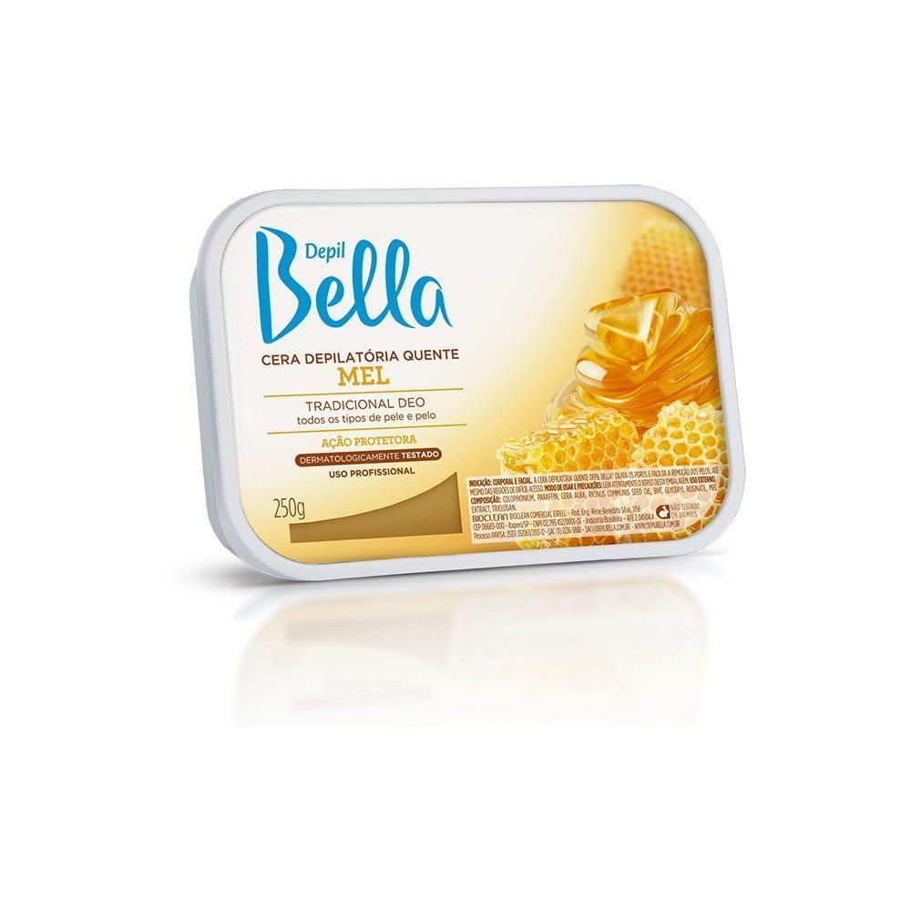 Cera Em Barra Depil Bella Quente Mel de Abelhas 250g.