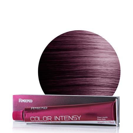 Coloração Amend 33.66 Castanho Escuro Vermelho Intenso (Framboesa) Color Intensy 50g.