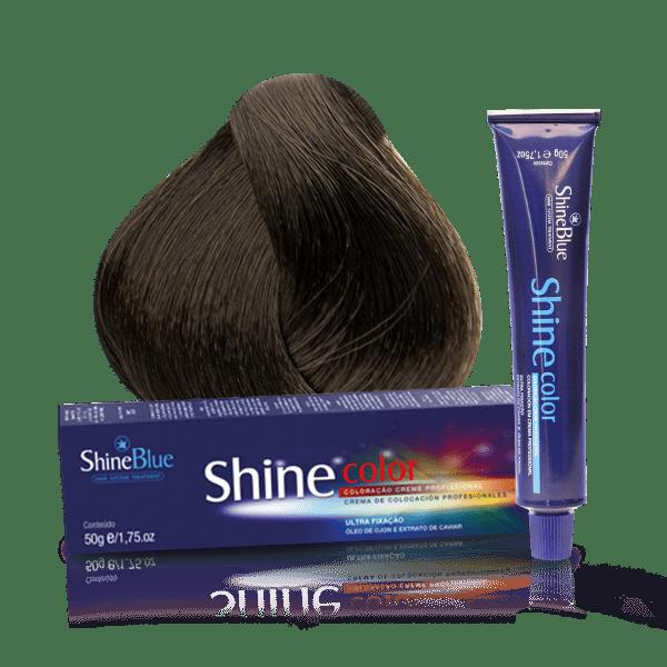 Coloração Shine Color 6.1 Louro Escuro Acinzentado 50g