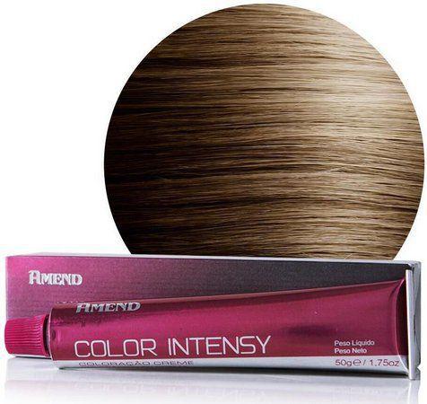 Coloração Amend 7.0 Louro Médio Color Intensy 50g.
