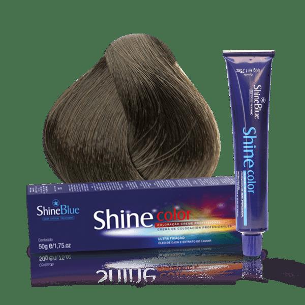 Coloração Shine Color 8.1 Louro Claro Acinzentado 50g
