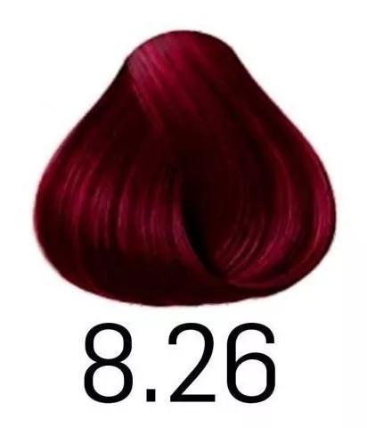Coloração Haskell Exclusiv 8.26 Louro Claro Violeta Marsala