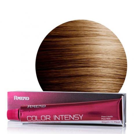 Coloração Amend 8.3 Louro Claro Dourado Color Intensy 50g