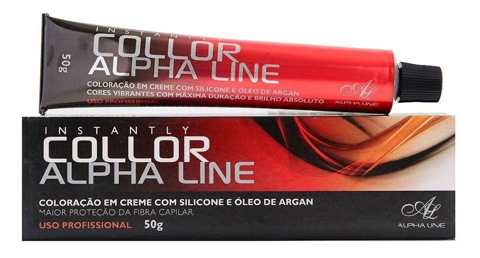 Coloração Instantly Collor 9.21 Louro Muito Claro Pérola 50g Alpha Line