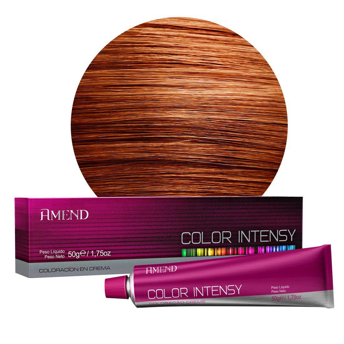 Coloração Amend 0.43 Cobre Dourado Intensificador Color Intensy 50g.