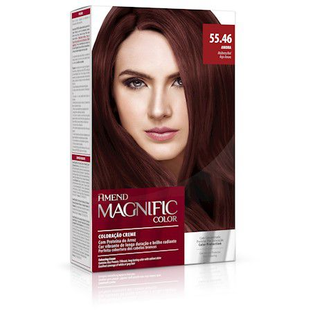 Coloração Creme Amend Kit 55.46 Amora Magnific Color