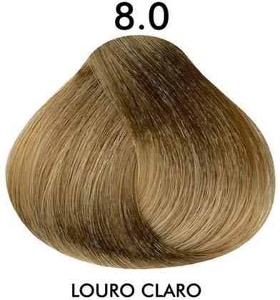 Coloração Creme Celso Kamura 8.0 Louro Claro Color Intense 50 ml