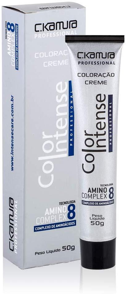Coloração Creme Celso Kamura Permanente 0.1 Cinza 50 ml