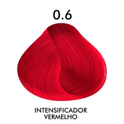 Coloração Creme Celso Kamura Permanente 0.6 Vermelho 50 ml.