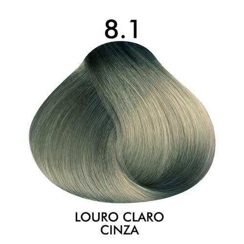 Coloração Creme Celso Kamura Permanente 8.1 Louro Claro Cinza 50 ml.