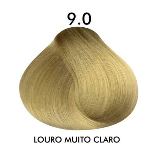 Coloração Creme Celso Kamura Permanente 9.0 - Louro Muito Claro 50 ml.