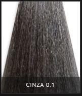 Coloração Creme Triskle Color Professional Intensive Repair 0.1 Cinza 50g.