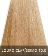 Coloração Creme Triskle Color Professional Intensive Repair 10.0 Louro Claríssimo 50g