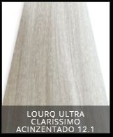 Coloração Creme Triskle Color Professional Intensive Repair 12.1 Louro Ultra Claro Cinza 50g.