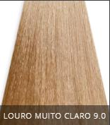 Coloração Creme Triskle Color Professional Intensive Repair 9.0 Louro Muito Claro 50g