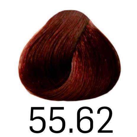 Coloração Haskell Excllusiv Color 55.62 Castanho Claro Vermelho Violeta Especial 50g
