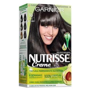 Coloração Nutrisse Garnier 30 Grafite