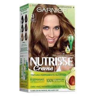 Coloração Nutrisse Garnier 53 Castanho Caramelo