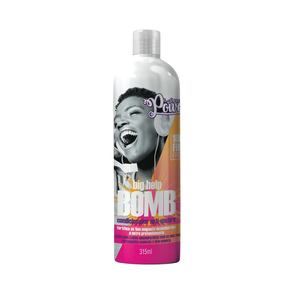 Condicionador Anti Quebra Soul Power Big Help 315ml.