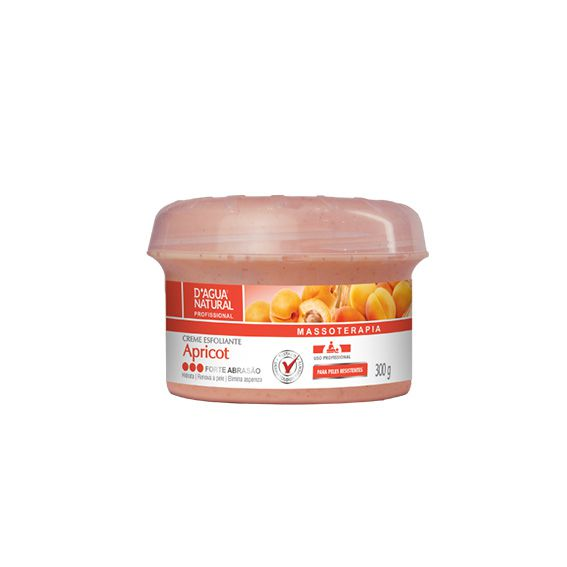 Creme Esfoliante Apricot Forte Abrasão 300g.