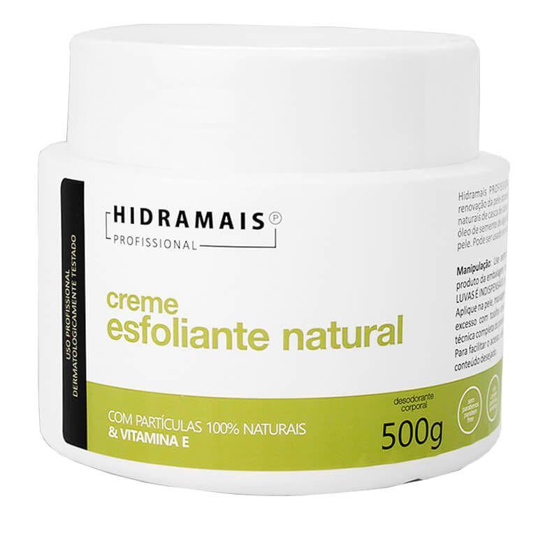 Creme Esfoliante Natural Hidramais 500g.