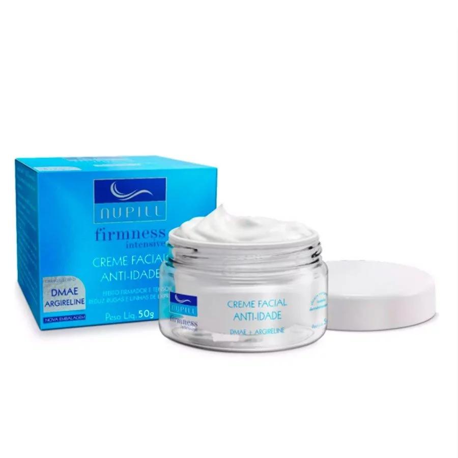 Creme Facial Anti-Idade Nupill Firmness Intensive Dmae + Argireline FPS 8 - 50g.