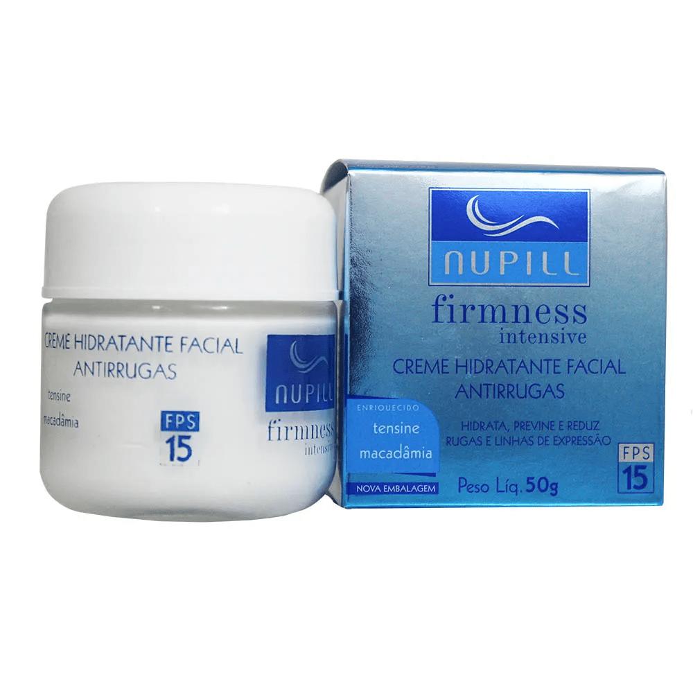 Creme Hidratante Facial Antirugas Firmness Intensive FPS 15 50g - Nupill