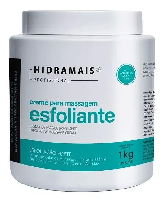 Creme Para Massagem Esfoliante Hidramais 1kg.