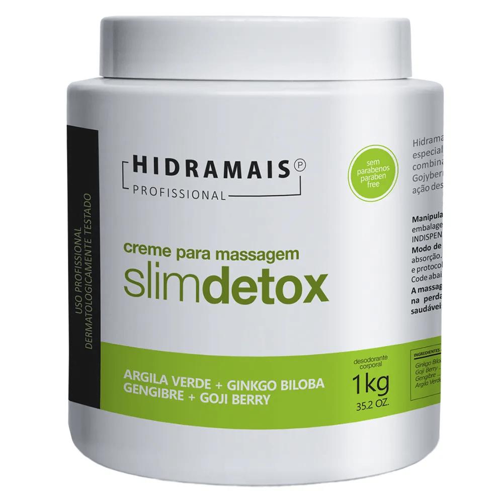 Creme Slim Detox Hidramais - 1Kg