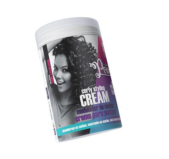 Curly Styling Cream Creme para Pentear Soul Power 800g.