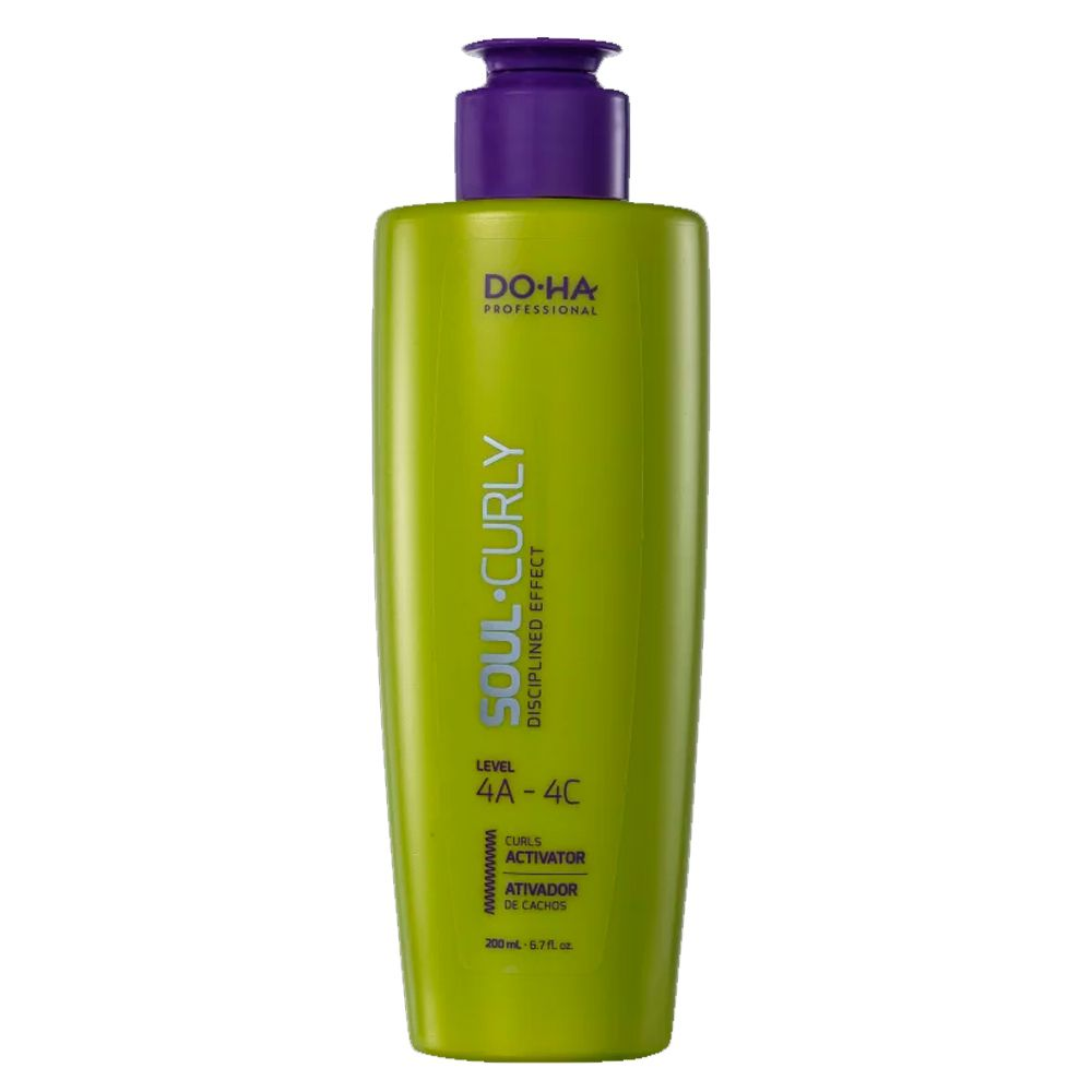 DO.HA Professional Soul Curly 4A 4C - Ativador de Cachos - 200ml