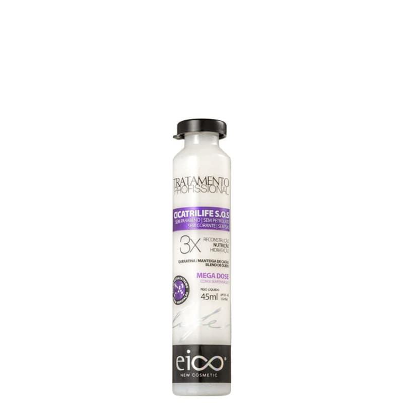 Eico Life Cicatrilife S.O.S. Mega Dose Tratamento Ampola 45ml.