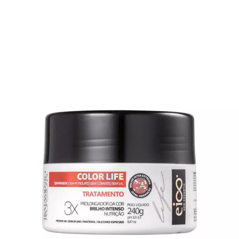 Eico Life Color Life Tratamento Máscara Capilar 240g.