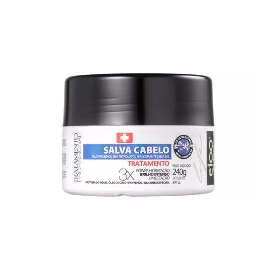 Eico Life Salva Cabelo Tratamento Máscara Capilar 240g.
