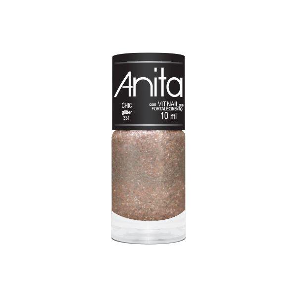 Esmalte Anita Chic Glitter 10ml.